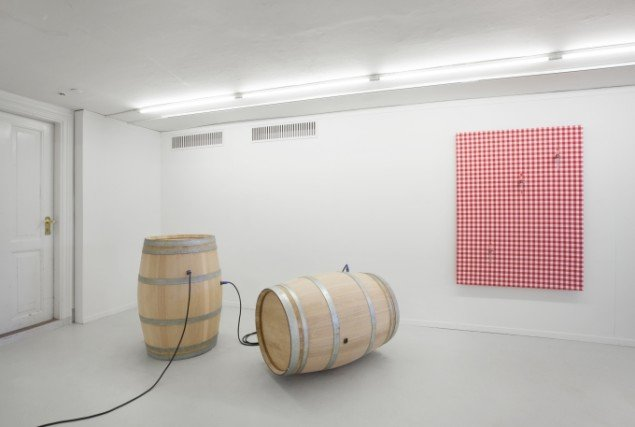 David Stjernholm: Seedless Grapes. Installationsfoto: David Stjernholm