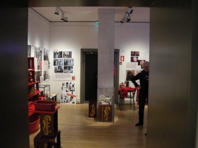 Installationsview fra Kanonklubben, What's Happening?. (Foto: Matthias Hvass Borello)
