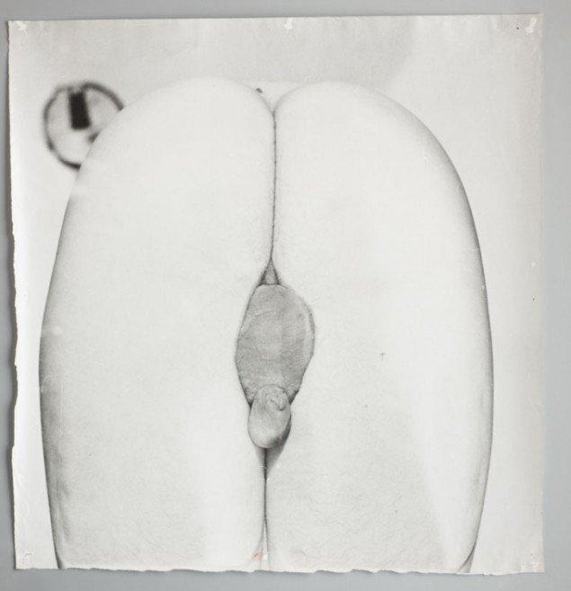 Paul Gernes Bagsider 1969 S/h fotografi. (Pressefoto, SMK)