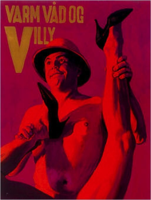Varm. våd og Villy, 1999. Foto: Bent Ryberg