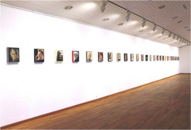 Den Personlige Portrætserie, 2015. Installationsview fra udstillingen Realitymaleri, Kastrupgårdsamlingen, 2015. Foto: Kastrupgårdsamlingen