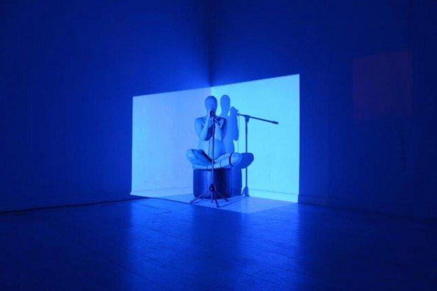 Dear Daugther / Organic Cyborg Stories (After Donna Haraway) #1, i forbindelse med Ghosts and Alter Egos, Itinerant_Sends_for_Itinerant, København, 2013. Live performance. Foto: Nanna Lysholt Hansen