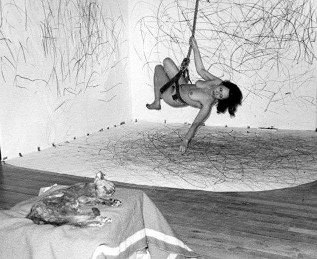 Carolee Schneemann: Up to and Including Her Limits, 1973-1976. (Foto: Henrik Gaard, Courtesy of the Artis).