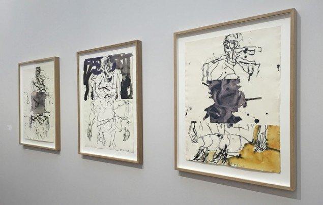 Galleri Bo Bjerggaard viser også værker af Georg Baselitz.