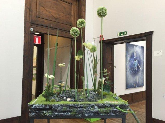 Detalje fra skulptur af Veit Laurent Kurz, Johan Berggren Gallery.