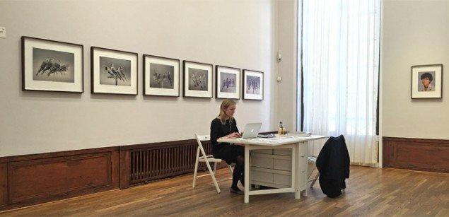Niels Borch Jensen Gallery med værker af blandt andet Carsten Höller, Tal R og Olafur Eliasson.