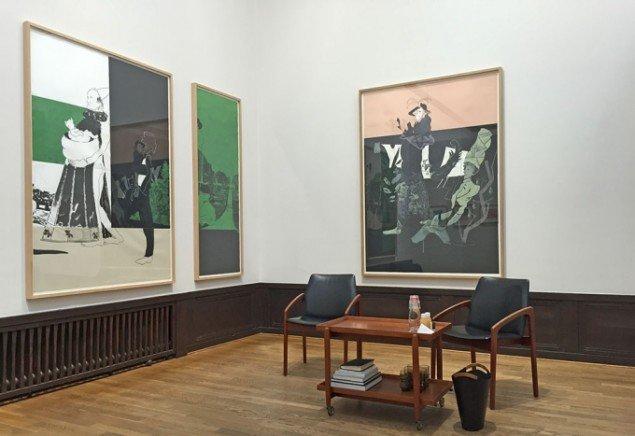 Standen hos LARMgalleri er dedikeret Kaspar Oppen Samuelsen.