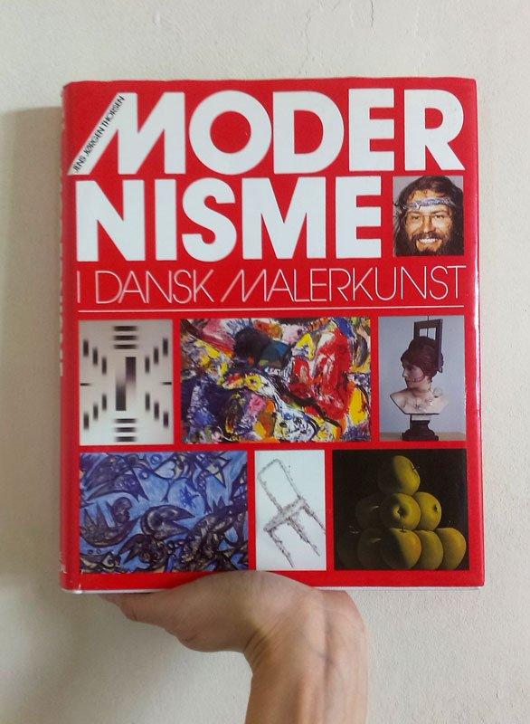 Jens Jørgen Thorsen: Modernisme i dansk malerkunst, 1987. (Foto: Line Rosenvinge)