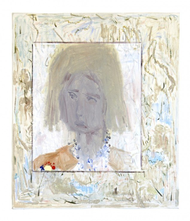 Adrian Buschmann: Self Portrait as a Girl, 2014. Foto: Galleri Jacob Bjørn
