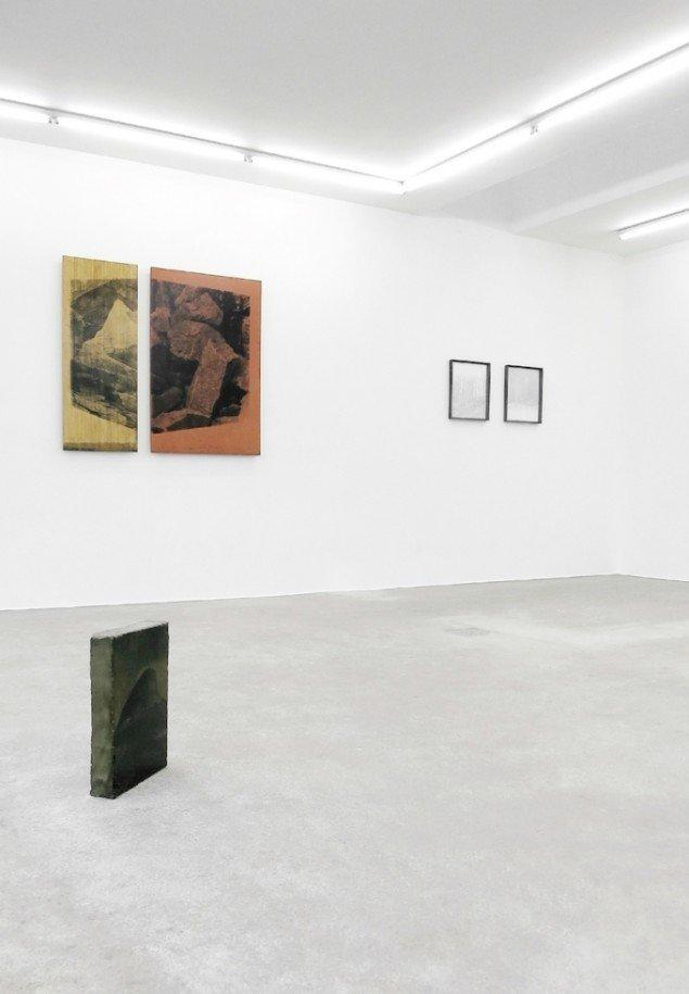 Installationsview fra Dissolving Boundaries, 2015, Gether Contemporary. Foto: Ditte Knus Tønnesen