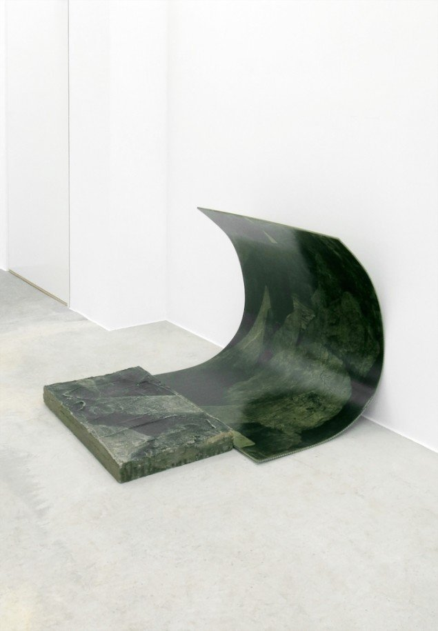 Ditte Knus Tønnesen: Recollections, Curvature Retained, 2015. Foto: Ditte Knus Tønnesen