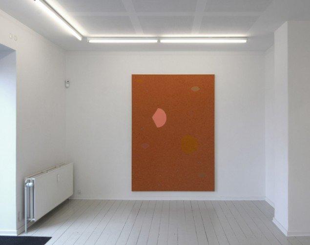 Installationsview fra udstillingen Bodil Nielsen - nye malerier på Galerie MøllerWitt. Foto: Galerie MøllerWitt