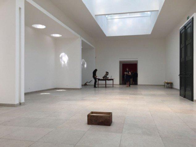 Installationsview, Mothertongue, Den Danske Pavillon, Venedig Biennalen 2015. (Foto: Jan Falk Borup)