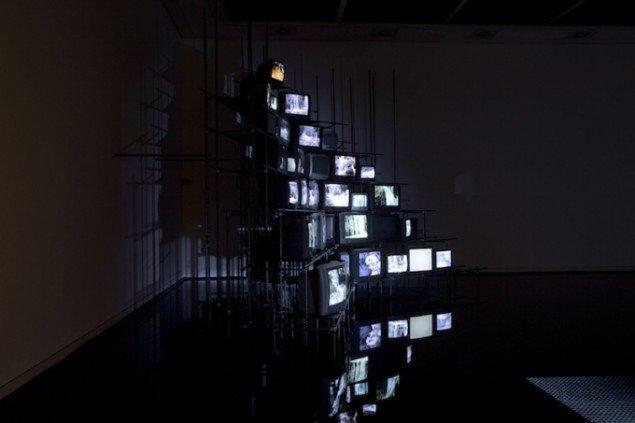 TV-tårnet, 2010. Ruminstallation på Horsens Kunstmuseum. Foto: Maj-Britt Boa og Morten Ranmar