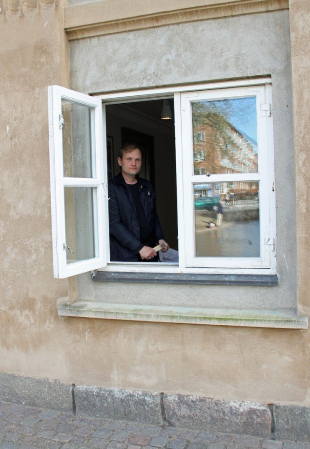 Heine Klausen i Møstings Hus. Foto: Leif Rasmussen