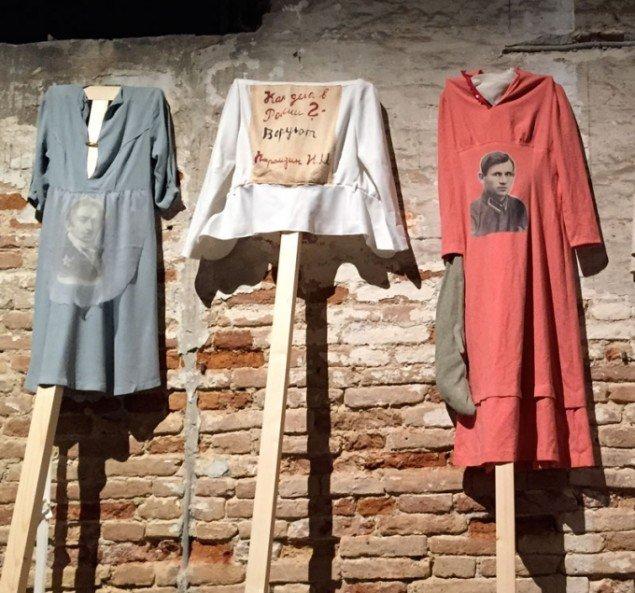 GLUKLYA/ Natalia Pershina-Yakimanskaya: Clothes for the demonstration against false election of Vladimir Putin, 2011-15. (Foto: Judith Schwarzbart)