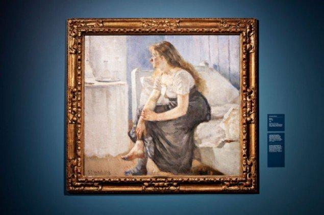 Edvard Munch: Morgen, 1884. (Pressefoto, Munch Museum)