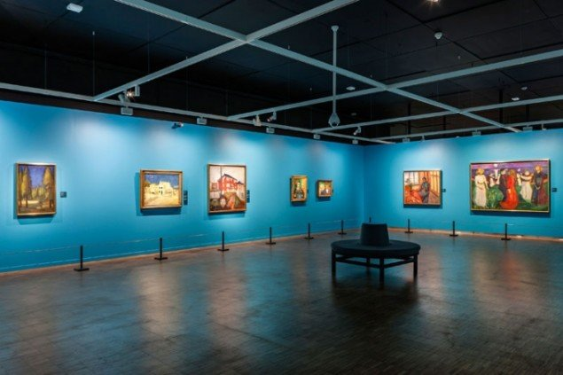 Udstillingsview. (Pressefoto, Munch Museum)