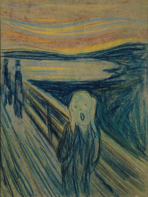 Edvard Munch: Skriget, 1893. Munch Museum.