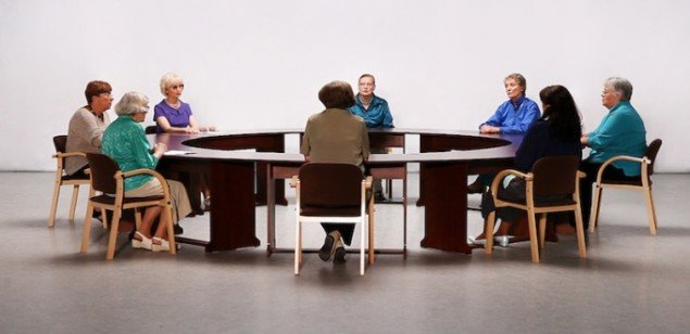 Decembers - a round table conversation, 2012. Videostill