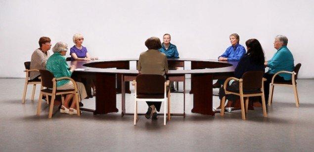 Decembers - a round table conversation, 2012. Videostill