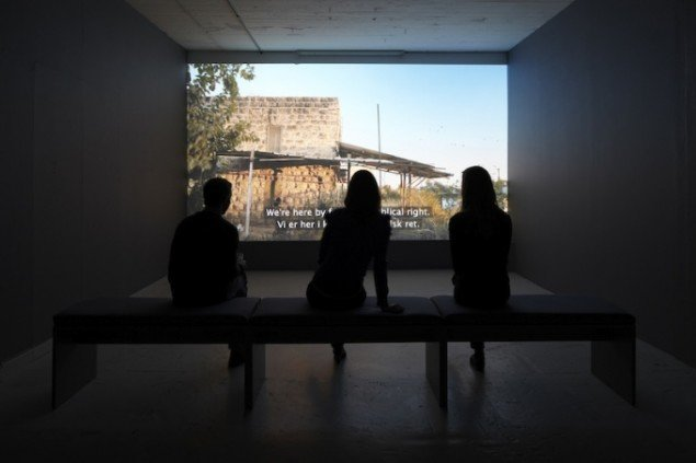 On Site, 2010. Installationsview fra Overgaden Institut for Samtidskunst. Foto: Anders Sune Berg