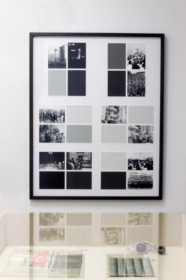 Decembers - surplus history, 2013. Installationsview, GREEN IS GOLD. Foto: Ditte Knus Tønnesen