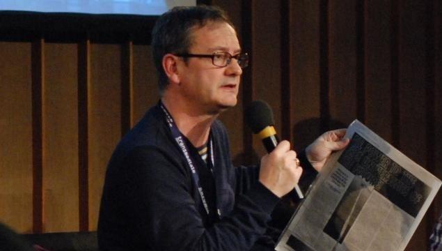 lektor ved Aarhus Universitet Geoff Cox er medarrangør på arrangementet Curator Talks på Kunsthal Aarhus