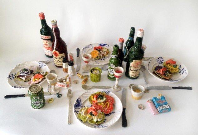 Rose Eken: Frokosten, 2015. Pressefoto