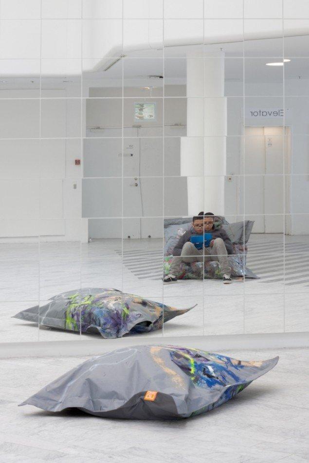 "Lacab is ""not"", 2013 på udstillingen Fuck Yes, Traneudstillingen, Hellerup. Foto: Mikkel Carl"