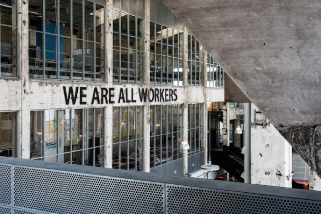 We Are All Workers, 2015 på Kunsthal NORD, Aalborg. Foto: Niels Fabæk