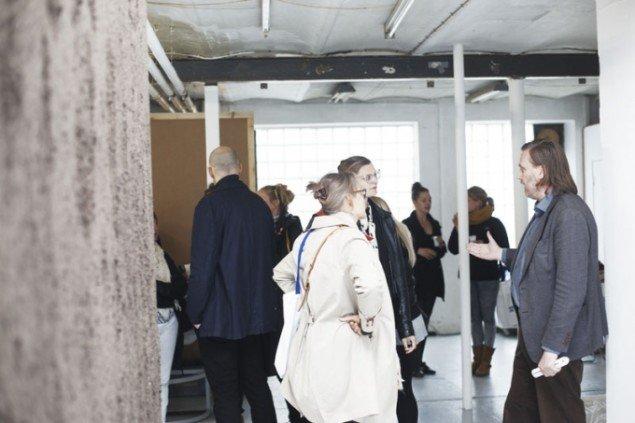 Det Jyske Kunstakademis udstilling Site trak mange gæster. Foto: Miau Miau Factory