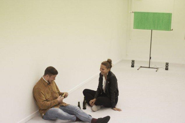 Det nyetablerede udstillingssted Piscine viste Jens Settergrens installation  Trope. Foto: Miau Miau Factory