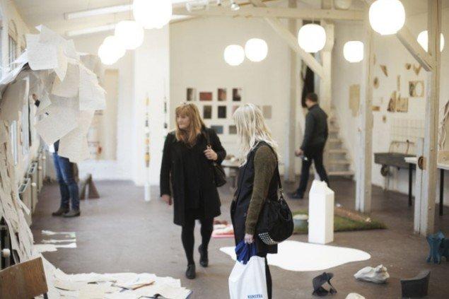 Udstillingen BASIS – prøver og undersøgelser på Aarhus Kunstakademi. Foto: Miau Miau Factory
