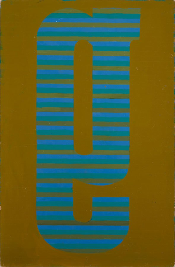 Poul Gernes: Untitled (G), 1965. Pressefoto