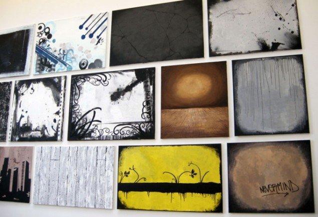 Anna Ørbergs visuelle gengivelse af 'grunge'. (Foto: Kristian Handberg)