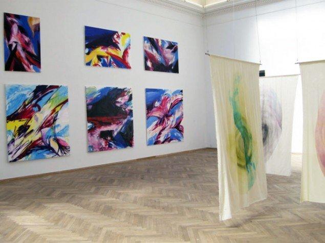 Værker af Andreas Nykvist og Anna Sjöström. (Foto: Kristian Handberg)