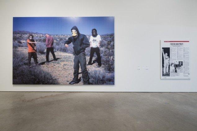 Claus Carstensen, Installationsview. Foto: Anders Sune Berg