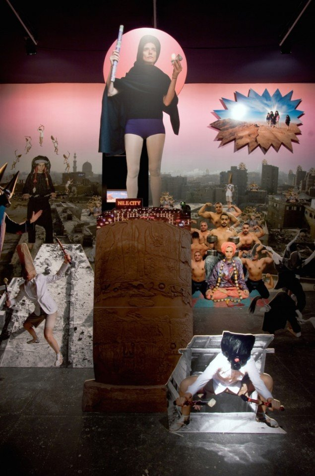 Egyptomaniacs, installation, Overgaden - Institut for Samtidskunst, 2007. Foto: Anders Sune Berg