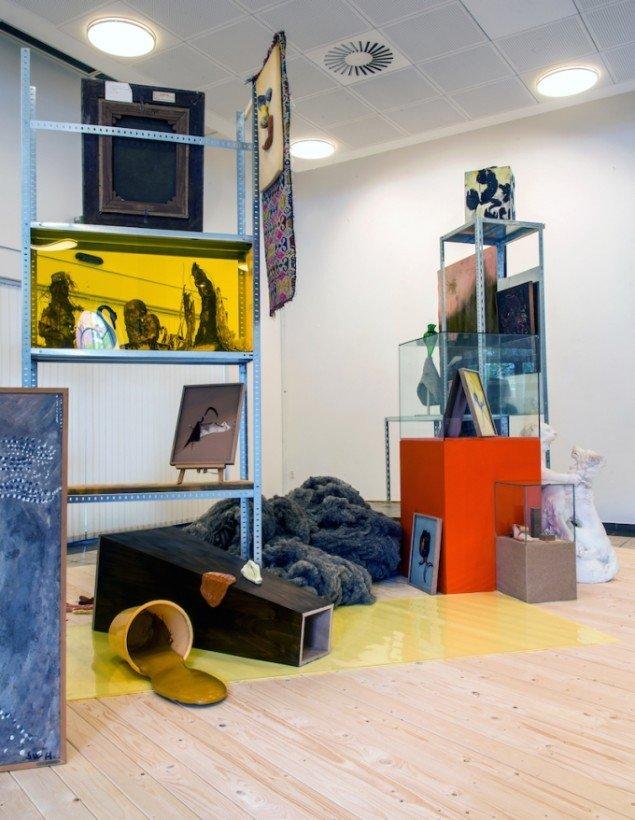 Museum of O.O.O., installation på KUNSTEN, Aalborg, 2015. Foto: Niels Fabæk