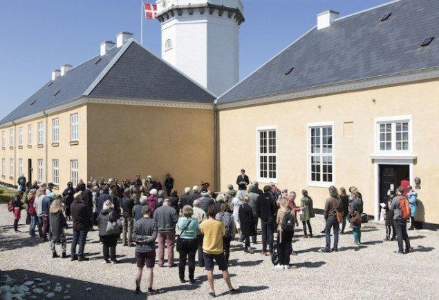 Der bydes velkommen i Hanstholm, Nordjylland. Et tre-dages symposium om Land Art løb af stablen mellem den 4. og 6. juni 2015. Foto: Morten Barker
