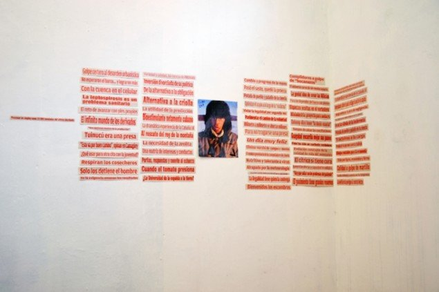 Værk af Ezequiel O. Suarez, 2015, Sovereignty (Post-Zone), Havana, Cuba. Foto: Marie Kirkegaard