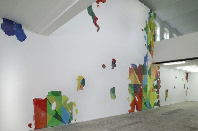 Simon Dybbroe Møller: Inside The Wall Inside Of You, 2005. Foto: Jens Ziehe / Århus Kunstbygning