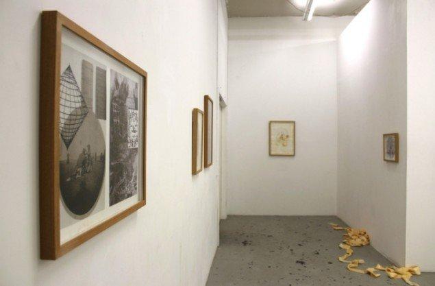 Installationsview fra udstillingen Ghost Dancers, 2015, OK Corral. Foto: Anna Bak