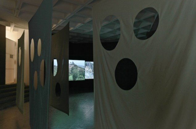 Aurora, 2012. Installationsview fra Museo Tamayo, Mexico City, 2012. Foto: ??