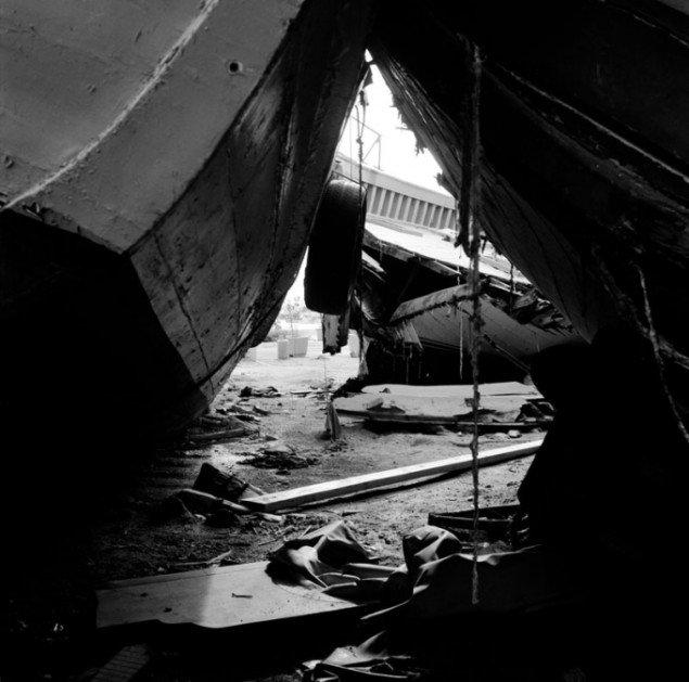 Clandestine Boat Cemetery I, Ink-Jet, 2014.
