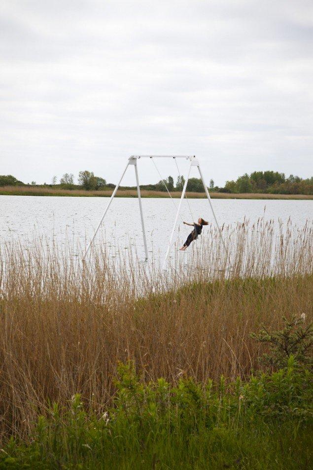 Thilo Frank: Få Fønix går tabt i vandet. Foto: Miriam Nielsen