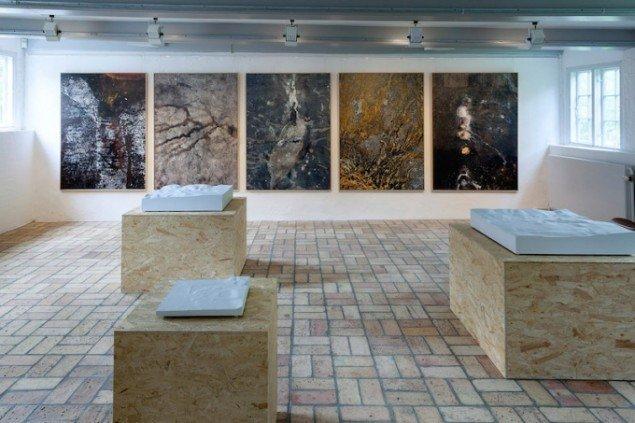 Installationsview fra udstillingen Underværker, Kystmuseet Bangsbo, 2015. Foto: Morten Barker