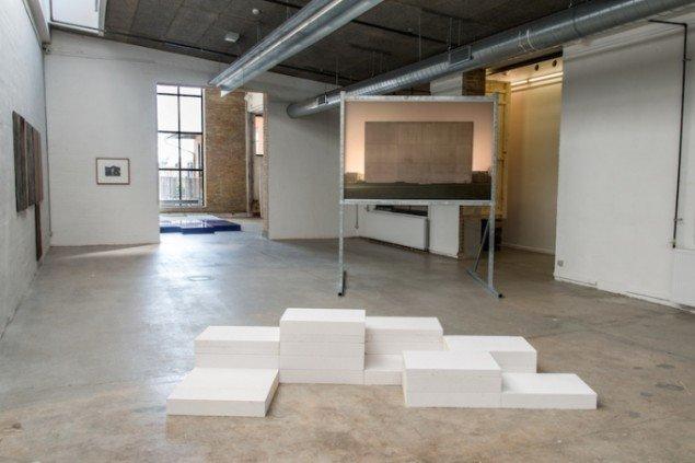Jesper Olesen: Untitled (Revisted), 2015 + Revisited, 2015. Foto: Niels Fabæk