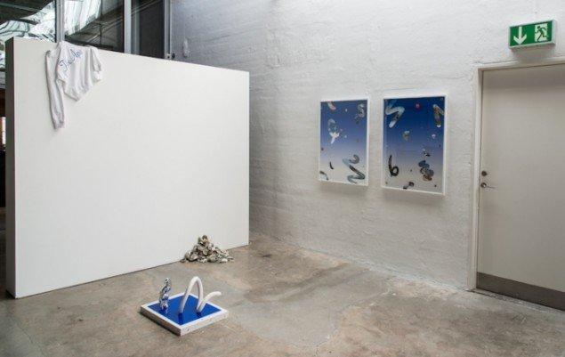 Sif Itona Westerberg: Installationsview. Foto: Niels Fabæk
